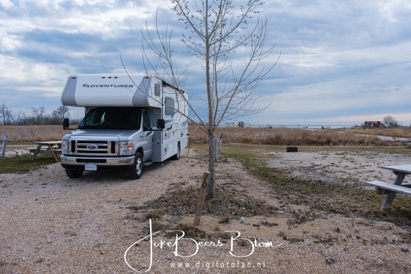 11-05-2019 024 Op camping in St Laurent Lake Manitoba